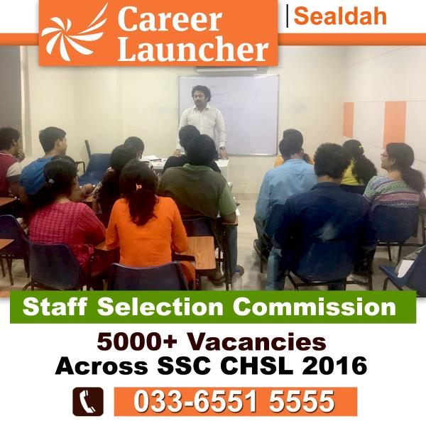 Expert guidance from Career launcher Sealdah helps students to overcome challenges in SSC examination with immense confidence. Since the success in SSC examination is based lot on the time management, for that we are providing online test s - by Career Launcher Sealdah, Kolkata