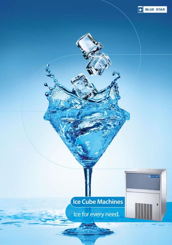 Blue Star-NTF make ice cube machine and ice flake machine for domestic and commercial purpose,  Italy make ice machines, power saving design, sprayers, auto stop n start, low noise, stainless steel body and power saving. Ice machine dealers in Hyderabad. For more details  Ph:8008823458 Ph:freezeairhyd@gmail.cocm