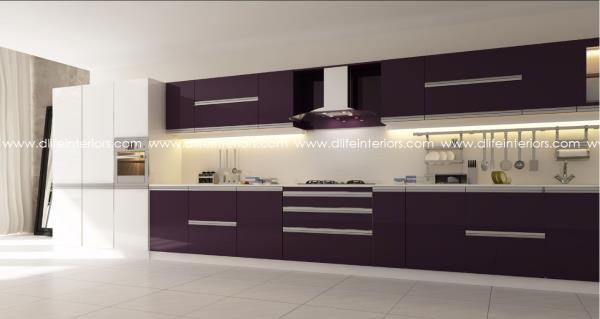 Single wall kitchen design straight line layouts are the for Straight kitchen ideas