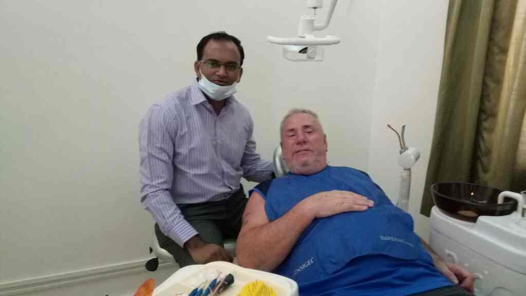 Aesthetic Restoration in Calangute Goa. teeth whitening , Dental implants,