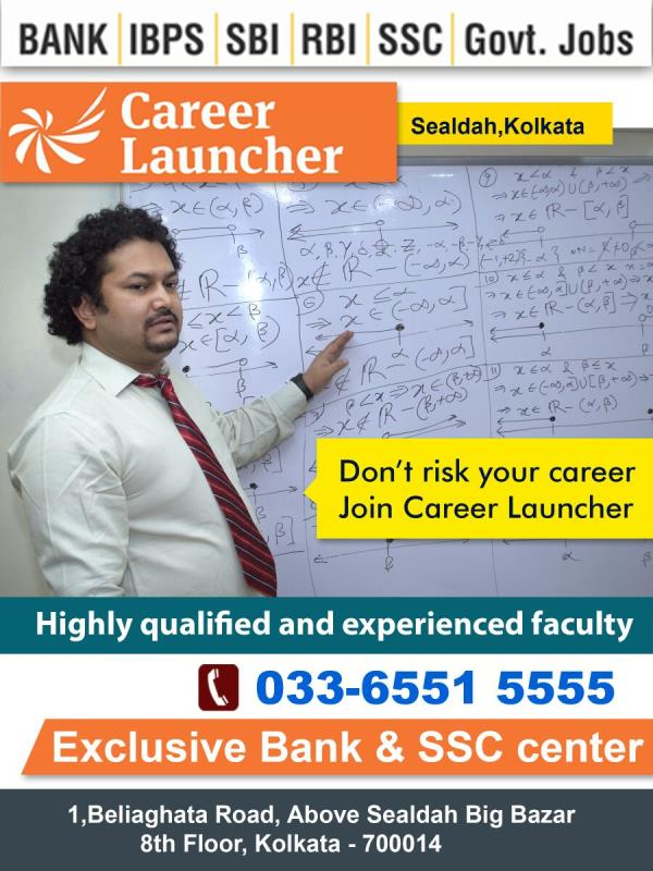 In Career launcher Sealdah we are giveing individual focus to every student so that they can come up with successful career. specially in math people have less confidence, so we are giving extra doubts clearing session. - by Career Launcher Sealdah, Kolkata