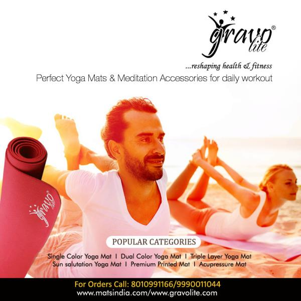 Yoga Mats Supplier in India  We, Clonko are known as a leading manufacturer and supplier of Yoga Mats in all over India. Our yoga mats are light in weight, easy to wash, durable, and odor free. Shop the best and largest selection of Yoga Ma - by Gravolite Yoga Mats, Delhi