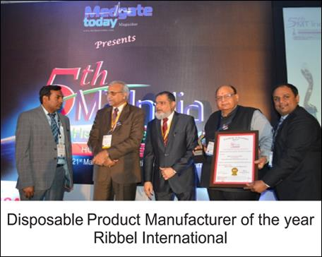 "5th MT India Healthcare Awards 2015 Held alongside Medical Fair, Pragati Maidan, New Delhi 21st March 2015  Medgate today a leading Magazine for medical professionals in India organized ""5th MT India Health Care Awards 2015"" held alongside Medical Fair India 2015, Pargati Maidan, New Delhi . A galaxy of doctors, healthcare professional, Hospital and companies from all over India participated in the event. Honorable Chief Guest Sri Satish Upadhya (President, BJP Delhi) spoke about the role of doctors in helping the poor section of the society, 14 award winners under various categories received the awards on the occasion. Medgate today focus on every doctor, young entrepreneurs, hospital staff and all people related to the medical fraternity to keep them updated with the rigorous developments of healthcare industry happy to commence this award ceremony. Winners have exemplified excellence amongst their peers in respective Sector and regions. Almost all the winners scored extremely well in our research study due to their dedication towards excellence, dedication, innovation and best ethical practices. By competing with the very best from their industry, winners know that their work has been evaluated by the sharpest minds in the industry, and that their services and contribution have truly excelled. These awards intend to inspire others towards big achievements, said Afzal Kamal (Founder & Editor –Medgate Today)  Doctors, the second person in the world, who are the first thought of every individual for faith after God, as they are the hands we have to save and treat the best to every person who approaches them.  With deep regards from our hearts, we stand here to honor and appreciate their efforts, which is what they deserve.  We would like to thank our guest of honor Dr. Girdhar Gyani, Dr. Anupam Sibbal, Dr. Dinesh Batra & Our Juries Dr. M. Wali, Dr. Naveen Nishchal, Dr. Pardeep Bhardwaj, Rajul Garg & Dr. Wale Alabi   Tags : excellence dedication innovation 