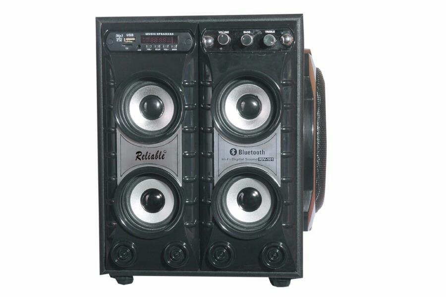 Reliable super bass DJ speakers Portable Bluetooth Mobile/Tablet Speaker Black