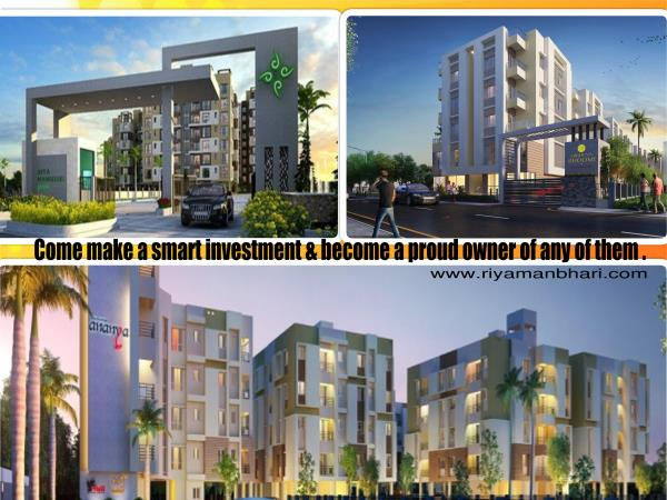 Riya Manbhari Group welcomes All to make their investments in these urban facilitated homes which are also affordable. - by Riya Manbhari, Kolkata