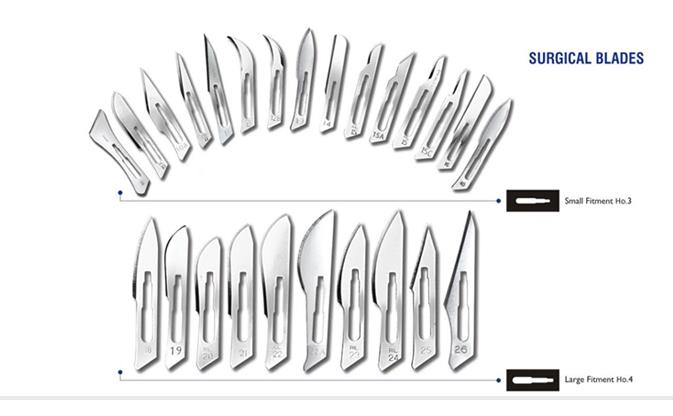 Surgical Blades Manufacturer in Delhi  Backed by vast experience and comprehensive knowledge, we have developed our expertise in the design and development of high quality and precision surgical blades