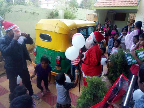 Christmas Carol's in our home - by Rays Of Hope, Bengaluru