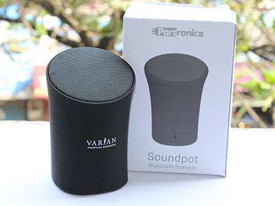 Portronics Sound Pot has a Slim Cylindrical Shape, living up to its name, the wireless Bluetooth Speaker sports an ultra compact and ultra portable design with a rubberised smooth finish. It is designed to deliver deep and powerful bass as it has bass reflex speakers. Our client choose this amazing product as a Diwali Giveaway to it's staff as it as good as it sounds. One can do away with the USB cable since the elegantly designed Portronics Sound Pot speaker has an in-built Bluetooth feature to let you easily share your music from Bluetooth compatible devices.   Varian Medical Systems International India Pvt Ltd choose this product as it has rechargeable lithium-ion battery, lightweight, easy to carry and has great sound quality which makes it a perfect Diwali corporate gift. We Gift wrapped it and delivered it to their offices all over India. Timely delivery without compromising on the quality of product is what Giftt Hub is known for. Understanding and implementing the clients requirement has helped Giftt Hub make new clients and retain our happy clients.