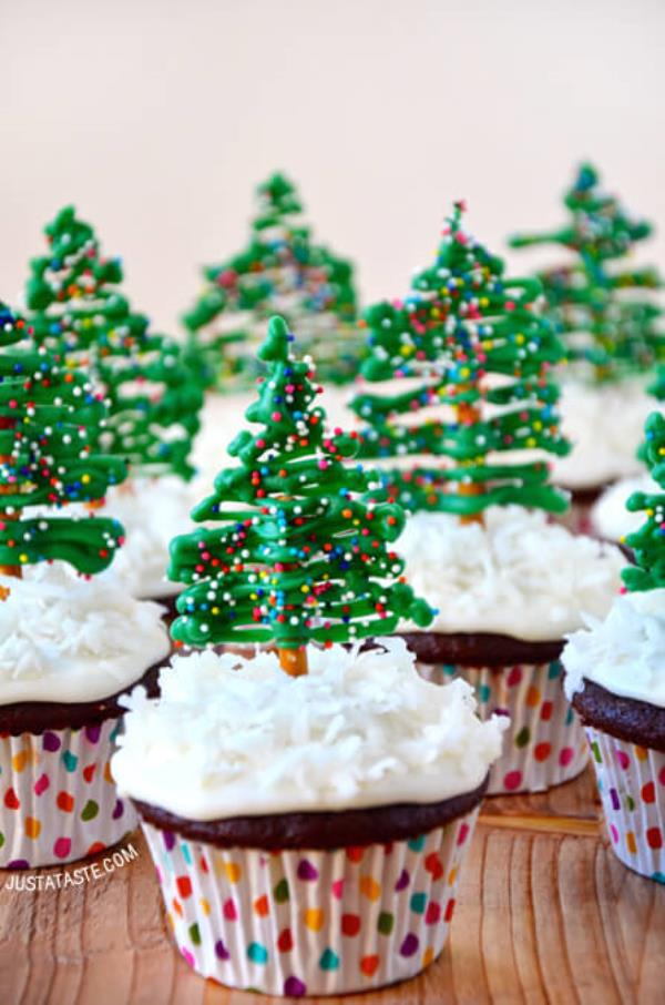 🎅 Merry Christmas!!! 🎉 ❄ ✨ ⌛ ✈ ☁ ☝   Christmas Tree Cupcakes  These edible cake toppers are so pretty, but you know they're even tastier... 🎁 👍 🚙 ⏳ 🚤 🚙 🚁 🙈 - by Technews us, Kolkata
