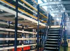 Don racks will manufacture the industrial racks for you, the custom steel mezzanine that helps you obtain the greatest amount of usable floor space by transforming your overhead, unused space into workable storage above and below the mezzanine.