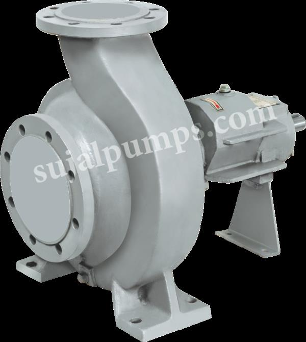 Sujal Engineering are Manufacturer, Supplier & Exporter of Hot Oil Pump in South Africa. With the assistance of our team of professionals, we are engaged in providing an excellent quality Hot Oil Pump that is used in plastic and rubber industries, petrochemical industries and sugar industries. Our offered oil pump is manufactured in compliance with industry standards utilizing quality tested components with the aid of advanced technology. In order to maintain its quality, this oil pump is rigorously tested on different quality parameters by our quality experts.   Features:  Optimum performance High strength Low power consumption  Specifications:  Type: Centrifugal Hot Oil Pump Pressure: Up to 15 bar Head: Up to 150 m Speed: Up to 2900 rpm Pump Size: 25 to 100 mm Capacity: Up to 300 m3/hr Temperature: 70 to 350° C  Applications:  Plastic and rubber industries Sugar Industries Petrochemical Industries Food Industries Timber processing industries Textile, dyeing, printing industries Paper making industries Synthetic fiber industries Oil Industries Construction industries