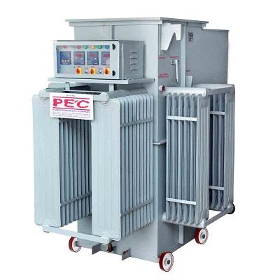Power Engineers Company is a renowned manufacturer of automatic voltage controller in Vadodara Gujarat, India.  Power Engineers Company is Manufacturer, Exporter & Supplier known for reliability and continuous improvement in the field of rolling contact type automatic voltage controller, The systems are designed and supervised by a team of qualified engineers having more than 35 years of experience to achieve best possible quality to total customer's satisfaction.  We are a leading supplier of automatic voltage controller in Halol Gujarat, India.