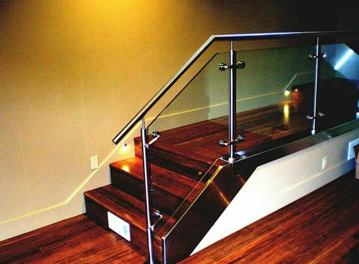 STAINLESS STEEL HANDRAILS WITH TOUGHENED GLASS MANUFACTURERS IN COIMBATORE TAMILNADU