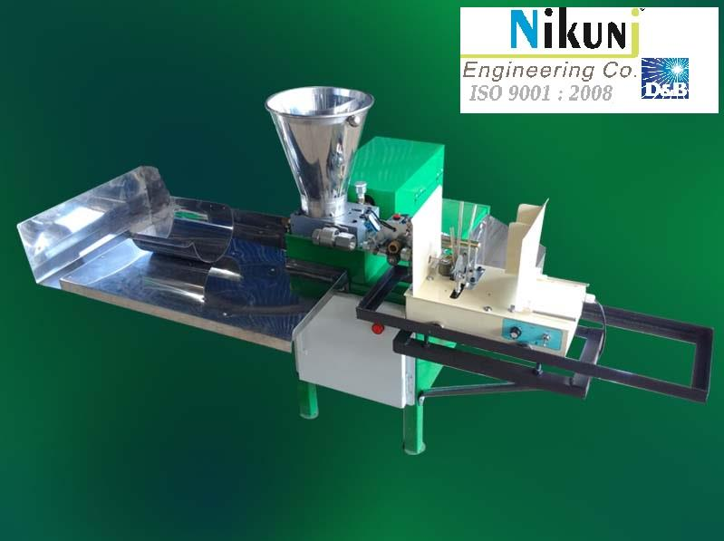 of Industrial experience, we Nikunj Engineering are a business entity to reckon. We are an ISO 9001:2008 Certified company, we have grown manifold since inception to become a well known manufacturer, exporter and supplier of Incense stick Making Machines.