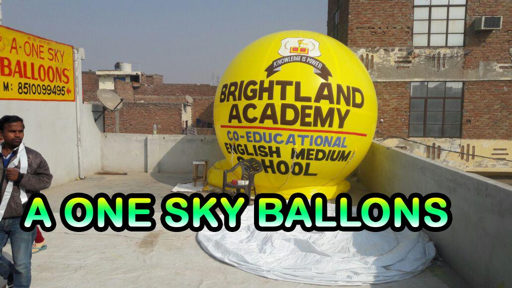 A One Sky Balloons - Advertising Sky Balloon Manufacturer in Kanpur  Advertising sky balloon use school promotion regarding  for more details call us or visit website