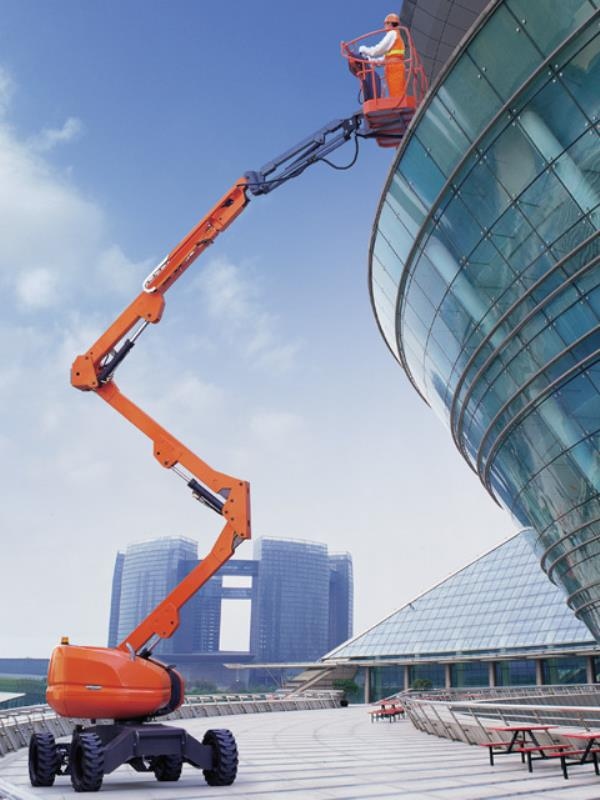 Boom Lift for Rental with Operator  Boom Lift Suppliers in Chennai