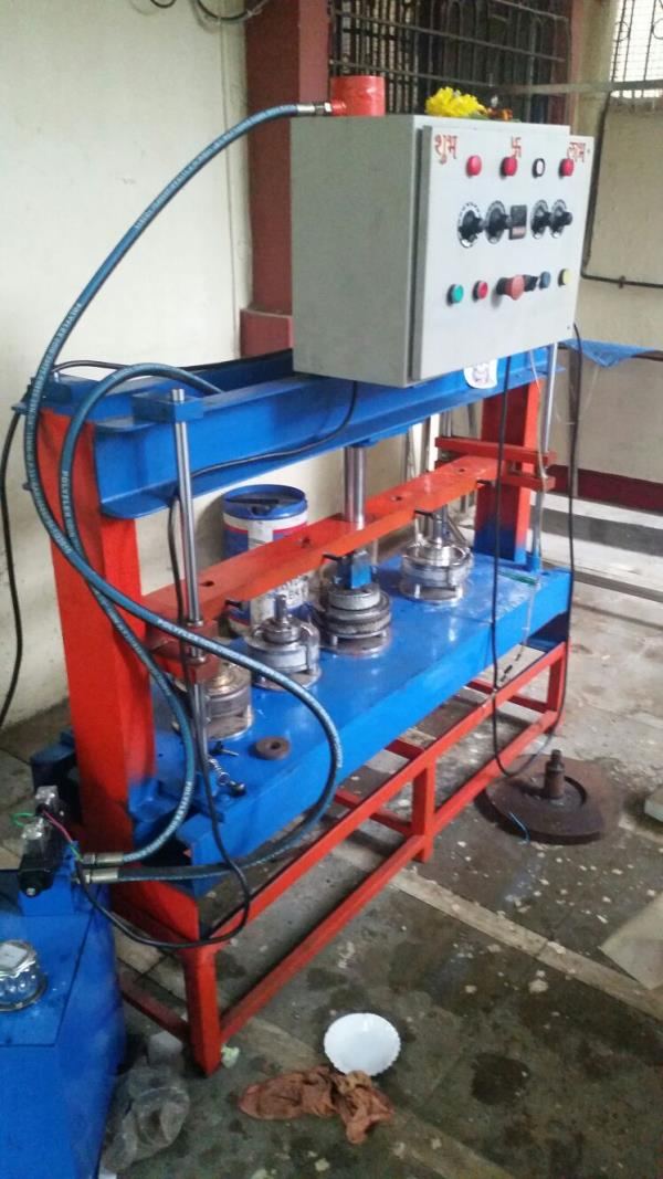Hydraulic Paper Plate Machine Manufacturer in Mumbai   Approx. Price: Rs 73, 000 / Unit  Paper Plate Size: 4