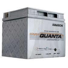 AMARON Quanta Batteries,  In normal use battery will not generate or release hydrogen and oxygen gases, will not release acid mist and will not have acid leak, This is because provide maintenance free  operation. They are inherently safer then conventional lead acid batteries. . We have bulk supplier of AmaraRaja Amron Quanta supplier in Delhi, Gurgaon and Noida.