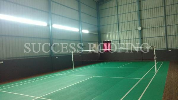 BADMINTON COURT CONTRACTORS IN CHENNAI  'SUCCESS ROOFING'  WE ARE ALL KINDS OF ROOFING WORK PROVIDING. FACTORY SHED, INDUSTRIAL ROOFING SHED, HOUSE MADE ROOFING SHED, SPORTS CLUB SHED, MARRIAGE HALL SHED, TERRACE SHED, COW SHED, POULTRY, BA - by SUCCESS ROOFING, padappai