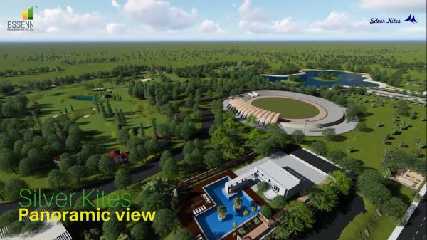 Silver Kites is a 450 acre gated township, the biggest that Bangalore has seen.