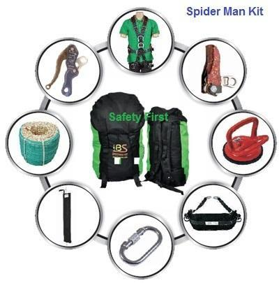 Spiderman Safety Kit We are Leading Manufacturer, Exporter, Wholesaler and Supplier of Spiderman Safety Kit, Spider Safety Kit, Spider man Safety Kit, Spider Rope Access Kit in mumbai  (India).  Offering you a complete choice of products which include Spiderman Kit - such as Double Stop Descender, Polyamide Nylon Braided Rope, Sit Harnesses Full Body, Shunt - For Safety, Glass Suction Pad, Steel Carabiner and many more items. Spiderman Safety Kit Manufacturers in India, Spiderman Safety Kit in India, Spider Safety Kit, Spiderman Safety Kit, Spiderman Safety Kit Suppliers in India, Spiderman Safety Kit Suppliers in Hyderabad, Spider Rope Safety Kit, Spiderman Safety Kit Exporters.  The first component of a personal fall arrest system is the Safety Harness worn by workers while performing the job at heights The Safety harness is an important component of personal fall arrest systems – keeping workers suspended upright in the event of a fall, and supporting them while they await rescue. Facade Cleaning Harness is designed for working in hanging position and to absorb falls This is widely used in facade Glass cleaning, Rock climbing etc. They are characterised by incomparable ergonomics that provide high degree of comfort to the users during most applications.  Spiderman Safety Kit Manufacturers in India, Spiderman Safety Kit in India, Spider Safety Kit, Spiderman Safety Kit, Spiderman Safety Kit Suppliers in India, Spiderman Safety Kit Suppliers in Hyderabad, Spider Rope Safety Kit, Spiderman Safety Kit Exporters.  The first component of a personal fall arrest system is the Safety Harness worn by workers while performing the job at heights The Safety harness is an important component of personal fall arrest systems – keeping workers suspended upright in the event of a fall, and supporting them while they await rescue. Facade Cleaning Harness is designed for working in hanging position and to absorb falls This is widely used in facade Glass cleaning, Rock climbing etc. They are characterised by incomparable ergonomics that provide high degree of comfort to the users during most applications.  Spiderman Safety Kit, Spiderman Safety Kits, Spiderman Safety Kit manufacturers, Spiderman Safety Kit in India, Spiderman Safety Kit Exporters, Spiderman Safety Kit Suppliers in India, Spiderman Safety Kit Suppliers in Hyderabad, Spiderman Safety Kit. Spiderman Safety Kit - Spider man Safety Kits, Safety Spider man Kit, Safety Kit, Sit Harness. Rope access kit in India, Window Cleaning Kit, Window Cleaning Safety Kit, Glass Cleaning Kit, Spider Man Kit, Spider man Safety Kit, Spider man Kit, Facade Glass Cleaning Rope Access Kit, Facade Cleaning Kit, Facade Glass Cleaning kit in India, Industrial Rope Access Spider kit, Climbing Rope access Kit, Sit Harness Full Body, Safety Harness Full body, Rope access kit , Facade Glass Cleaning kit. 1. Full body harness. 2. Descender. 3. Shunt. 4. Nylon braided static Climbing rope. 5. kernmantle semi dynamic rope. 6. SS Fall Arrester. 7. SS Carabiner.  Spiderman Safety Kit, Spiderman Safety Kits, Spiderman Safety Kit manufacturers, Spiderman Safety Kit in India, Spiderman Safety Kit Exporters, Spiderman Safety Kit Suppliers in India, Spiderman Safety Kit Suppliers in Hyderabad, Spiderman Safety Kit. Spiderman Safety Kit - Spider man Safety Kits, Safety Spider man Kit, Safety Kit, Sit Harness. Rope access kit in India, Window Cleaning Kit, Window Cleaning Safety Kit, Glass Cleaning Kit, Spider Man Kit, Spider man Safety Kit, Spider man Kit, Facade Glass Cleaning Rope Access Kit, Facade Cleaning Kit, Facade Glass Cleaning kit in India, Industrial Rope Access Spider kit, Climbing Rope access Kit, Sit Harness Full Body, Safety Harness Full body, Rope access kit , Facade Glass Cleaning kit. Spiderman safety kit includes: