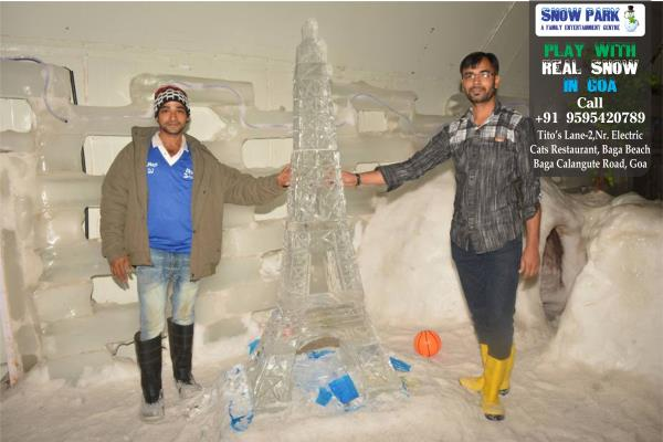 Fun Never Get Down. Enjoy Vacation With Freeze Time..  #Snowparkgoa