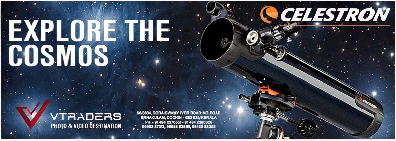 Celestron Telescope  Available at  V TRADERS Ernakulam, Cochin - Kerala 9995287313, 9995883889. 9846053355