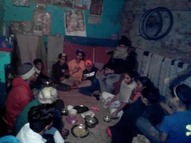 sanskar kendr ma shbhoj - by tejsvikeshav, West Delhi