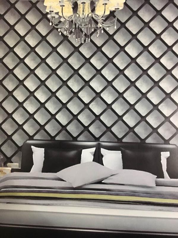 Supplier of Aurora Wallpaper. A Geometrical 3D design will change your room  Interior. Aurora