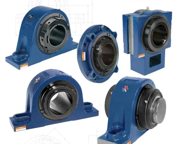 Spherical Roller Bearing Units. Its Easy to install and operate The popular housing styles are such as P Two bolts pillow configuration PE Two bolts pillow configuration reinforced F Three or four bolts flange configuration FC Piloted four bolts flange configuration T Center pull take-up configuration