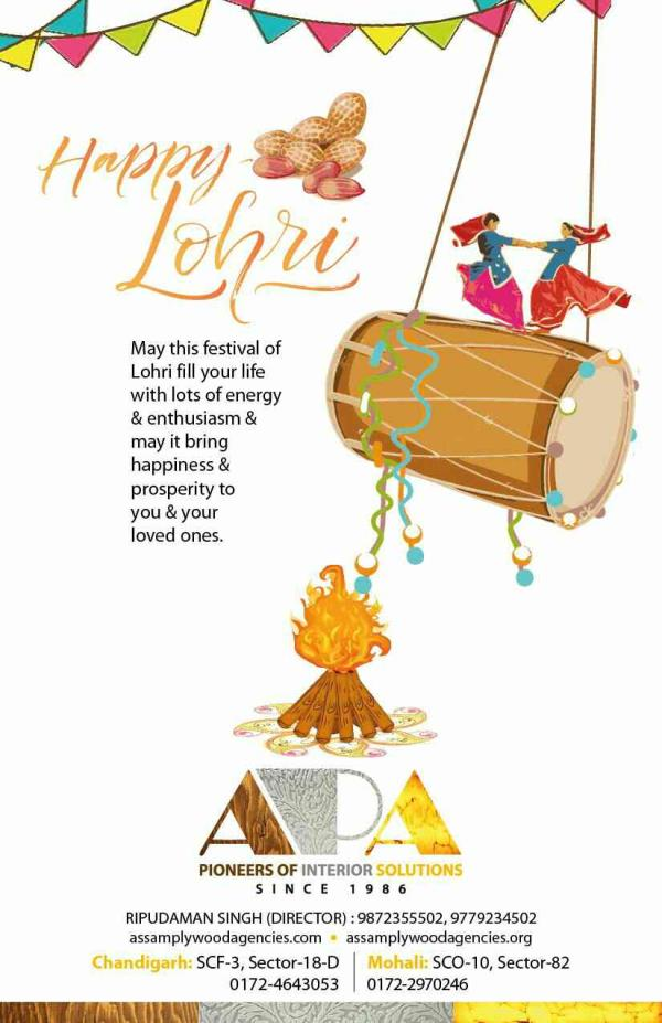 Wishing you all a very happy lohri😊 - by Assam Plywood Agencies, Mohali