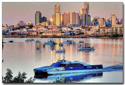 Travel Agent in South Delhi, Delhi.  The most scenic and exciting way to get around Brisbane is by Citycat. Gliding the twists and turns of the Brisbane River seven days a week, the fleet of CityCats and City Ferries with 24 hop-on, hop-off - by Karavan Holidays  +919810060052, Delhi