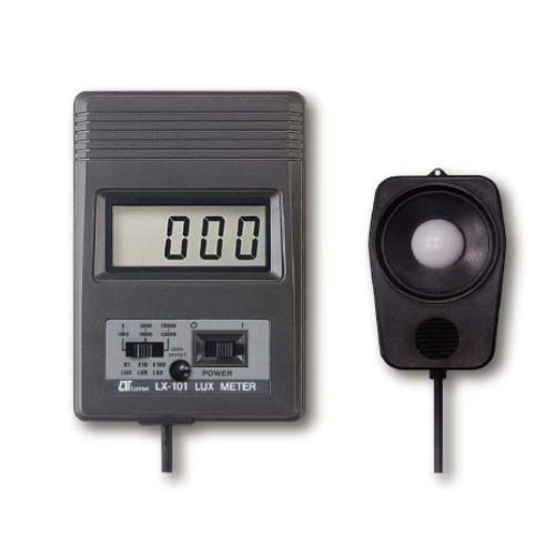 We provide compact and lightweight Lux Meter to our customers at competitive prices. Provided with LSI-circuit, LCD display, separate light sensor and low battery indicator, these Lux Meters consume less power and are highly cost effective. These meters use exclusive multi-color correction filters and photo diode to provide accurate and precise measurement with optimum durability and reliability. The sensor used in the exclusive photo diode and multi-color correction filters, spectrum meet C. I. E. standard. The Lux Meter also has a built-in low battery indicator.