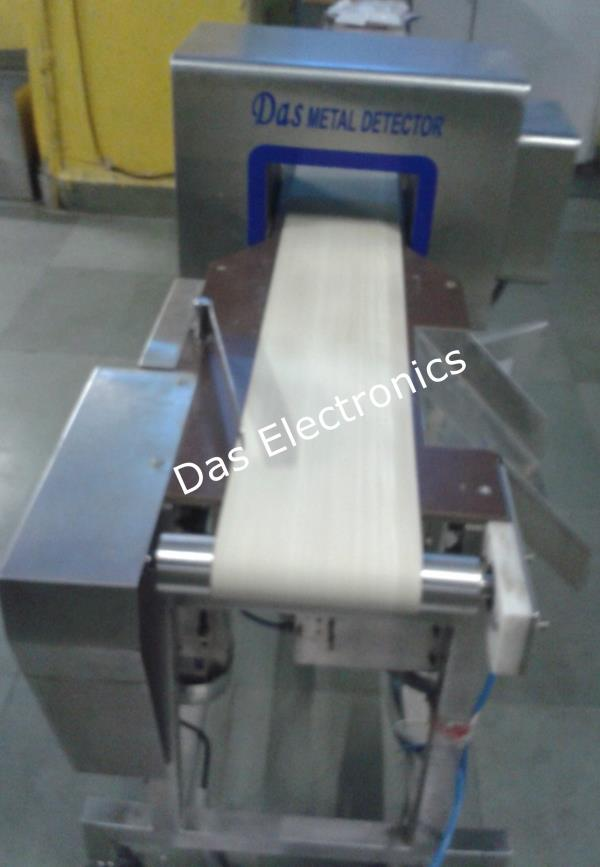 Metal Detector for Dairy Products:   •Product effect compensation •Audio and visual indication on metal detection •Dual channel operations •Automatic balancing •Very high sensitivity •IP 65 control panels •Made of mild or stainless steel •Model–AMD (All Metal Detection)-Detects Ferrous, Non-Ferrous and stainless steel •Model-FMD (Ferrous Metal Detection)-Detects Ferrous metal in metallised (aluminium) film packaging •Model-FAMD-combination of above two (AMD+FMD) model •Pneumatic flap, Air jet types of reject mechanism as per applications