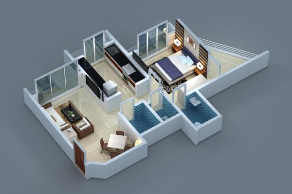 DANGE COMPLEX TOWER 3 PROJECTS 3D BIRD VIEW OF 1 BHK FLAT. WE ALSO HAVE 1 BHK WITH MASTER BEDROOM KIBLA FACING FLATS. POSSESSION AVAILABLE IN DEC 2017. ALL ULTRA MODERN AMENITIES ARE AVAILABLE. MASJID, RESTAURANT, SCHOOL, COLLEGE, TRANSPORT, MARKET, BANKS, KABRASTHAN ETC ARE AVAILABLE IN  NEARBY VICINITY. ITS ECO FRIENDLY PROJECT . LIFT WITH POWER BACKUP. R.C.C PILING BUILDING. RAIN WATER HARVESTING. GARDEN WITH CHILDREN PLAYING INSTRUMENT.  WITHOUT LOAN ALSO FLAT BOOKING/POSSESSION CAN BE DONE.