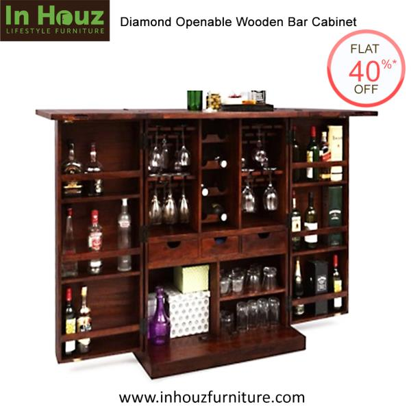 Stunning Finish & Gorgeous Designs of Bar Cabinets from In Houz Furniture will add charm to your Decor.  #WoodenBarCabinet #BarCabinetDesigns #BarCabinetsInIndia #BarCabinetDesignsForSale #BarCabinetsOnlineInIndia #SheeshamWoodBarCabinet #SolidwoodBarCabinet #FurnitureForSale #BarUnitDesigns #SolidwoodBarUnit #FurnitureManufacturersInIndia   Pick your favourite from the Latest Designs www.inhouzfurniture.com