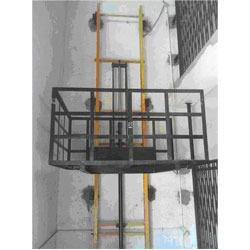 Goods lift with counter Weight Supplier In Mum