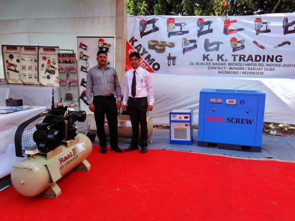 "RECENTLY WE PARTICIPATE ""INDUSTRIAL ENGINEERING EXPO-JANUARY 2017"" @ INDORE(M.P)  Real Air Compressor is leading Manufacturer of Piston Type Air Compressor and Screw Type Air Compressor.  For More Details Call Now: 079 40031884 9427631714   - by Real Air Compressor, Ahmedabad"