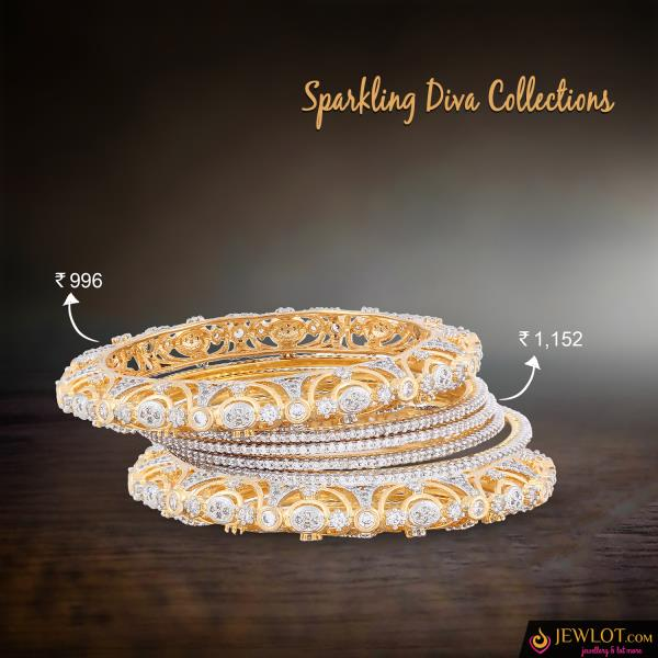 Bangle Clusters!! Group Them up For a better look  #jewlot #bangle #COD see more@ http://bit.ly/2jevi4t - by Jewlot.com, Chennai