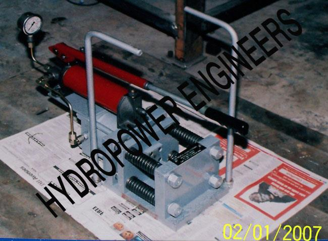 We Hydropower Engineers manufacture of high pressure  Testing equipments in Bangalore. - by Hydropower Engineers, Bengaluru