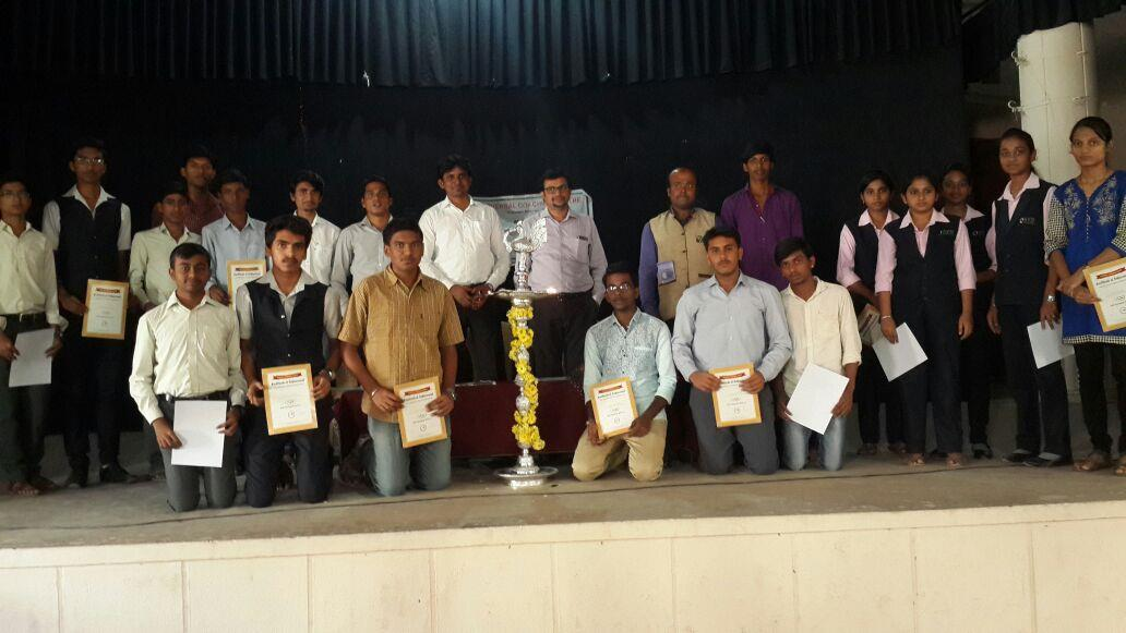 Universal School of Administration (A Brain Child of Universal Coaching Centre)   District level IAS Olympiad Compettition held at D.V.S. Rangamandira. DVS Polytechnic College, Opp to Gandhi Park, Shimoga, conducted by Universal Coaching Ce - by UCC INDIA ORG, Bengaluru