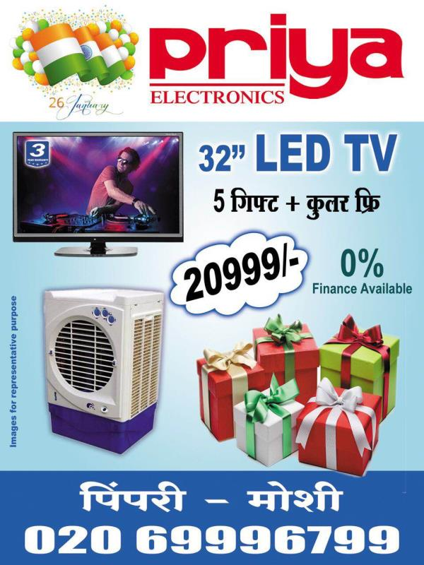 Republic day offer on SANSUI 32