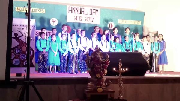 HAPPY REPUBLIC DAY TO EVERYONE! :)  The video features the students of KES INTERNATIONAL SCHOOL singing 'Final Countdown' in the Annual Day event which was happened on 9th of December, 2016. Luckily I could get this video captured by my fri - by Sagar Siddham, Mumbai