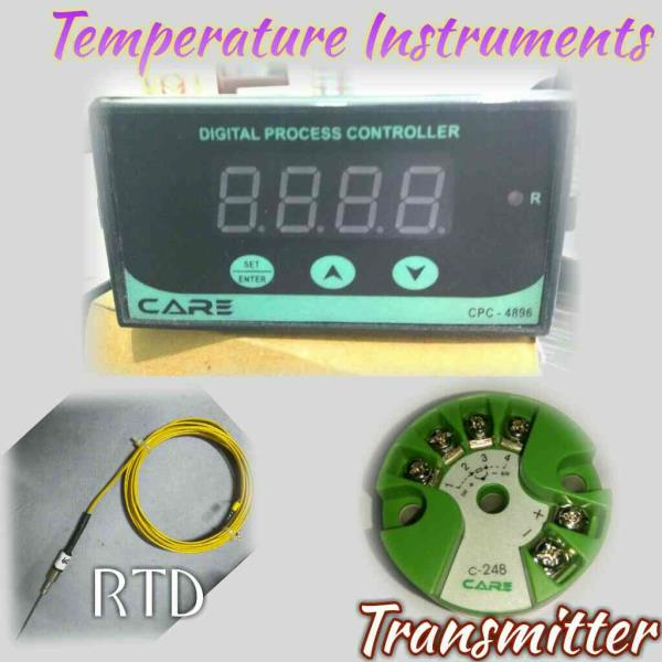 We are manufacturer of temperature Instruments like temperature transmitter,  thermocouple & Rtd, & controller  - by Care Process Instrument, Ahmedabad