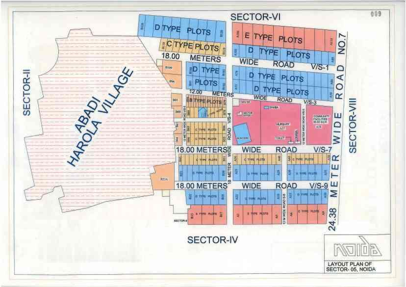 Industrial Plot for Sale   Location - B Block Sector 5 Noida   Size 800sqmt   Rate 4.25Cr  call for more Detail 8744006777