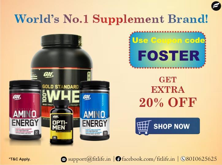 Shop for optimum nutrition supplements products at best price from Fitlife. For more info please visit - http://www.fitlife.in/ - by Fitlife   Best Rates  FREE Delivery  COD Available  Call Us @8010625625  www.fitlife.in, Gurgaon