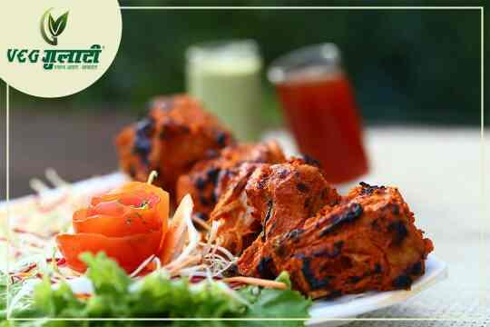 Visit Veg Gulati at Pandara Road Market   Have you tried our zesty Tandoori Kathal yet?  If not,  then rush to Veg Gulati for a heavenly experience