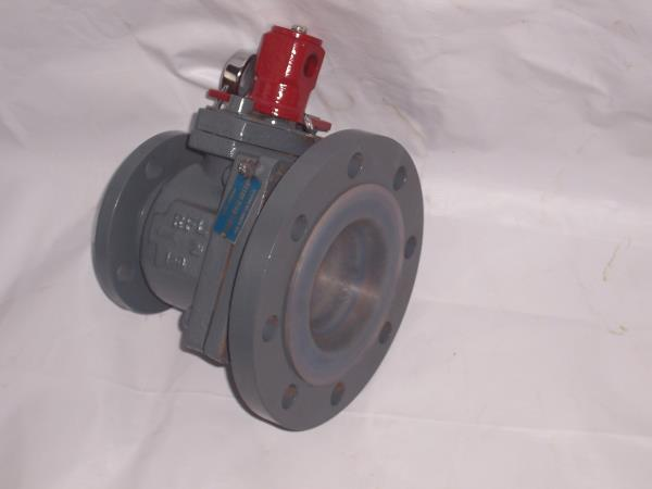 Rasaii Flow Lines Pvt. Ltd. India made PFA/FEP Lined Flush Bottom Ball Valve.Mainly used to flush out the liquid from the bottom of the vessels, tanks and other Industrial storage equipments. These valves are widely called as bottom valve,  - by RASAII FLOW LINES PRIVATE LIMITED, Chennai