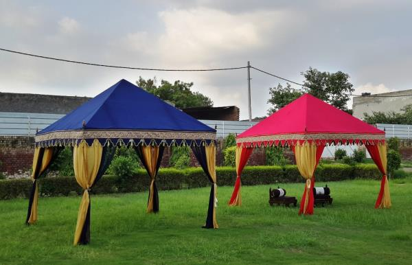 Raj Tents Manufacturers  We are the Best Quality Party Tents Manufacturers and Exporters in Karol Bagh, New Delhi. Our Pergola Tents and Cabanas are the Best Seller Tents. For more Indian Tents kindly check our website http://www.indiantents.com/tents/party-tents/