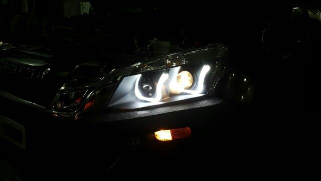 fancy headlights for Isuzu dmax vcross @motominds